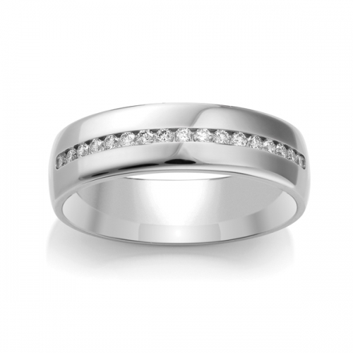 Diamond Wedding Ring TBCWG01 - All Metals