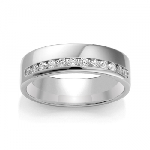 Diamond Wedding Ring TBCWG02 - All Metals