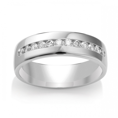 Diamond Wedding Ring TBCWG03 - All Metals