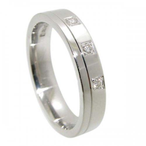Diamond Wedding Ring TBC5012-3D - All Metals
