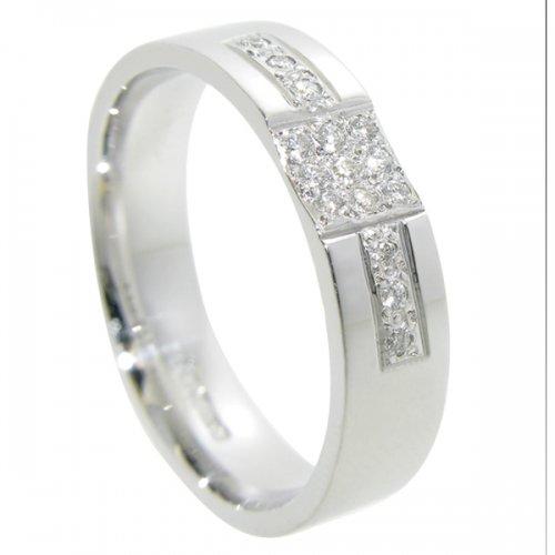 Diamond Wedding Ring TBC5115 - All Metals