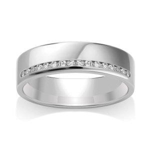 Diamond Wedding Ring TBCWG06 - All Metals