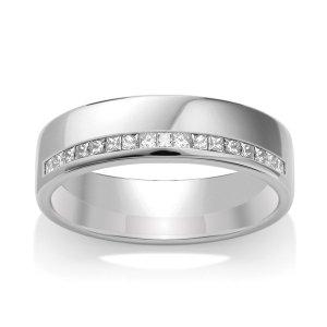 Diamond Wedding Ring TBCWG07 - All Metals