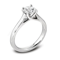 Engagement Ring Solitaire (TBC1106) - GIA Certificate - All Metals