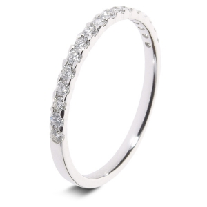 Platinum 0.25ct Diamond Half Eternity - Special Offer