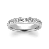 Diamond Wedding Ring - All Metals (TBCSPCHW) Channel Set