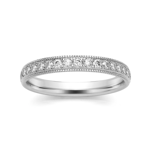 Eternity Ring (SRGM5ET) - Grain Set - All Metals