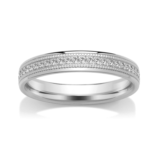 Eternity Ring (SRGM5DET) - Grain Set - All Metals