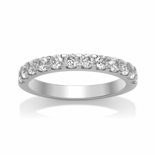 Eternity Ring (SRRCBET) - All Metals Claw Set
