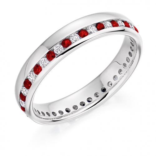Ruby Ring - (RUBFET944) - All Metals