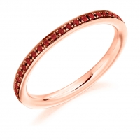 Ruby Ring - (RUBFET2891) - All Metals