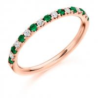 Emerald Ring - (EMDHET1023) - All Metals