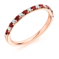 Ruby Ring - (RUBHET1023) - All Metals
