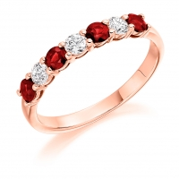 Ruby Ring - (RUBHET1493) - All Metals