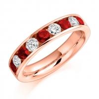 Ruby Ring - (RUBHET940) - All Metals