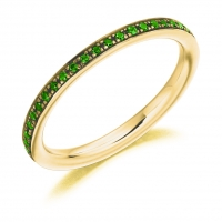Emerald Ring - (EMDFET2891) - All Metals