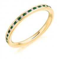 Emerald Ring - (EMDFET964) - All Metals