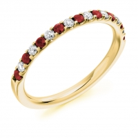 Ruby Ring - (RUBHET1023) - All Metals