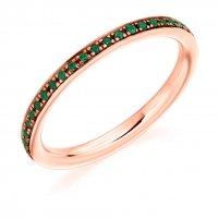 Emerald Ring - (EMDFET2891) - All Metals