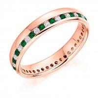 Emerald Ring - (EMDFET944) - All Metals