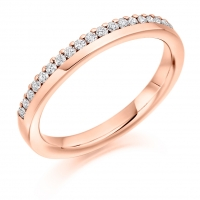 Eternity Ring  - (TBCHET2301) Claw Set - All Metals