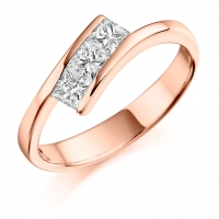 Engagement Ring Trilogy  - (TBCTRL1068) - All Metals