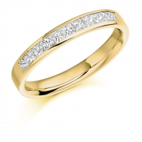Eternity Ring   - (TBCHET929) - A Third Channel Set - All Metals