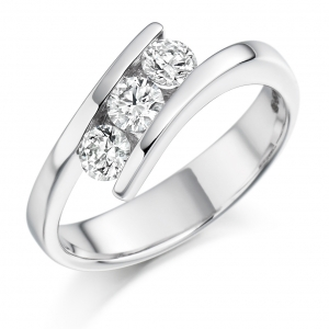 Engagement Ring Trilogy  - (TBCTRL1072) - All Metals