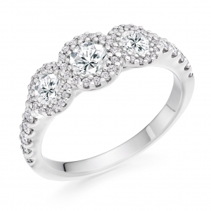 Engagement Ring Trilogy  - (TBCTRL5049) - All Metals
