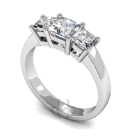 Engagement Ring Trilogy (TBC188) - All Metals