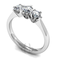 Engagement Ring Trilogy (TBC390) - All Metals