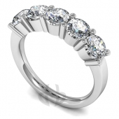 Diamond Five Stone Rings