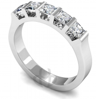 Eternity Ring (TBC111) - Five Stone - All Metals