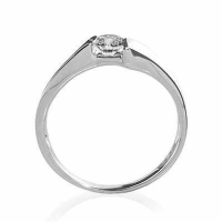 18ct White Gold 0.20 Carat Diamond Ring -  Special Offer