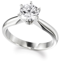 Engagement Ring Solitaire (TBC66) - GIA Certificate - All Metals