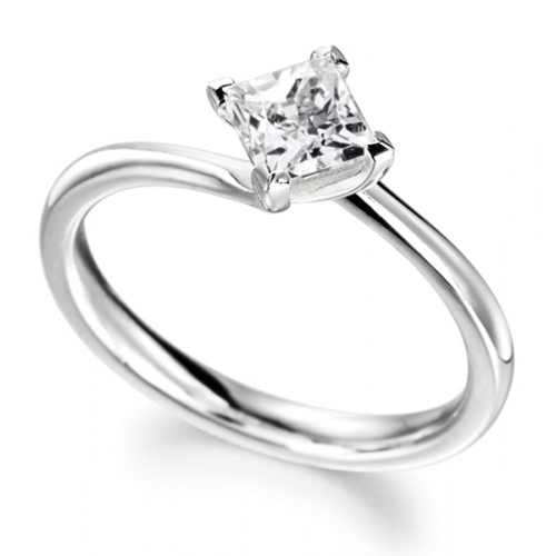 Engagement Ring Solitaire (TBC140) - GIA Certificate - All Metals