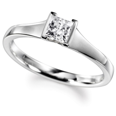 Platinum GIA Diamond Engagement Ring