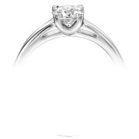 Platinum 0.30 DVS2 Diamond Ring - Special Offer