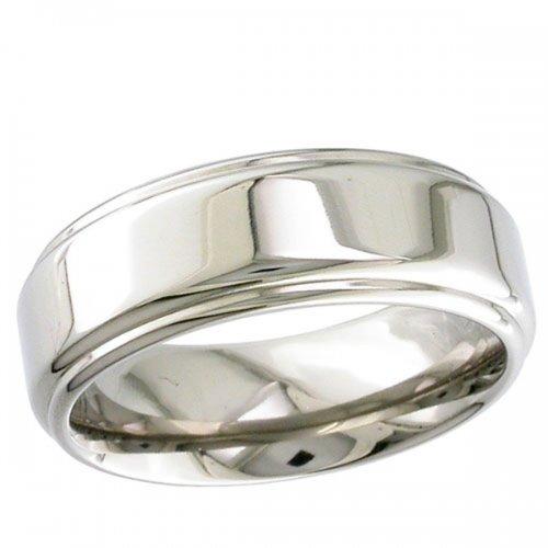 Titanium Wedding Ring  -  Plain Titanium Ring