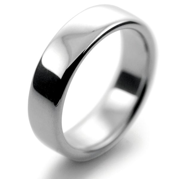 rings court shape wedding medium weight ring mens handmade light platinum