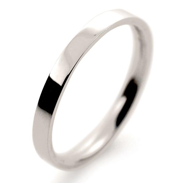 flat court light 2mm fcsl2 w white gold wedding ring