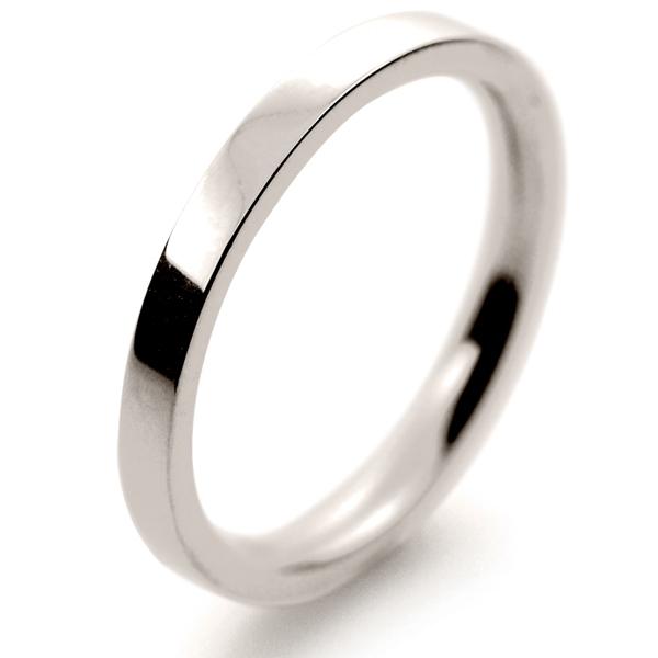 flat court medium 2mm fcsm2 w white gold wedding ring
