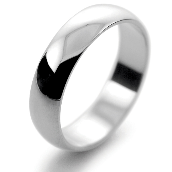 mens palladium wedding rings 5mm - Palladium Wedding Rings