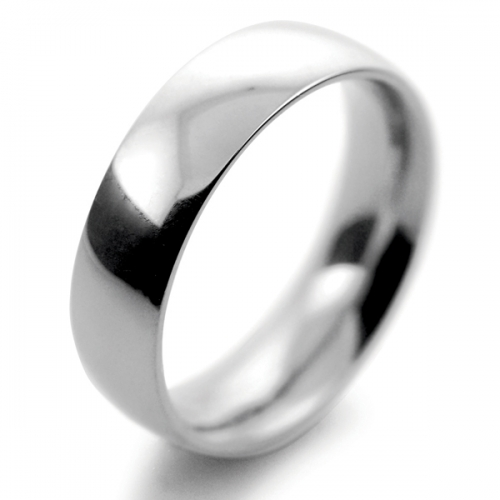 Traditional Court Heavy - 6mm (TCH6PAL) Palladium Wedding Ring