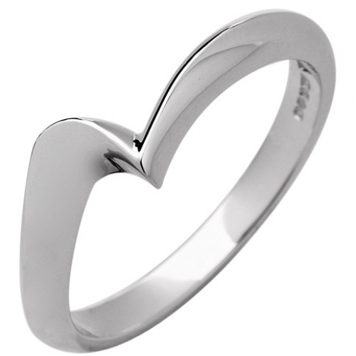 Shaped Wedding Ring 2.5mm (R1116) - All Metals