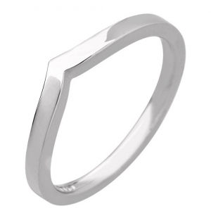 Shaped Wedding Ring 1.7mm (R897) - All Metals