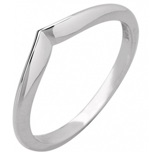 Shaped Wedding Ring 2mm (R913) - All Metals