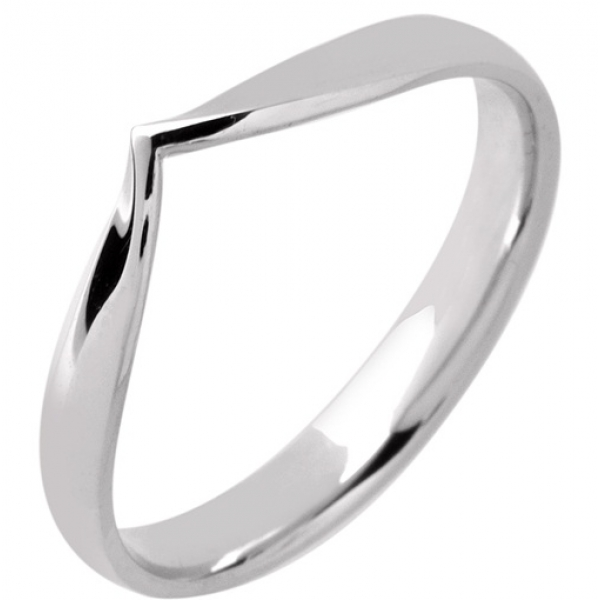 gold v shaped wedding rings white gold shaped wedding