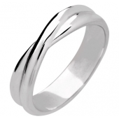 Palladium Wedding Rings Plain Shaped