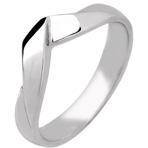 Shaped Wedding Ring 3.7mm (R286) - All Metals